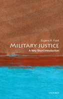 Military Justice: A Very Short Introduction$